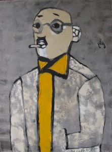 A.Self portrait,2010