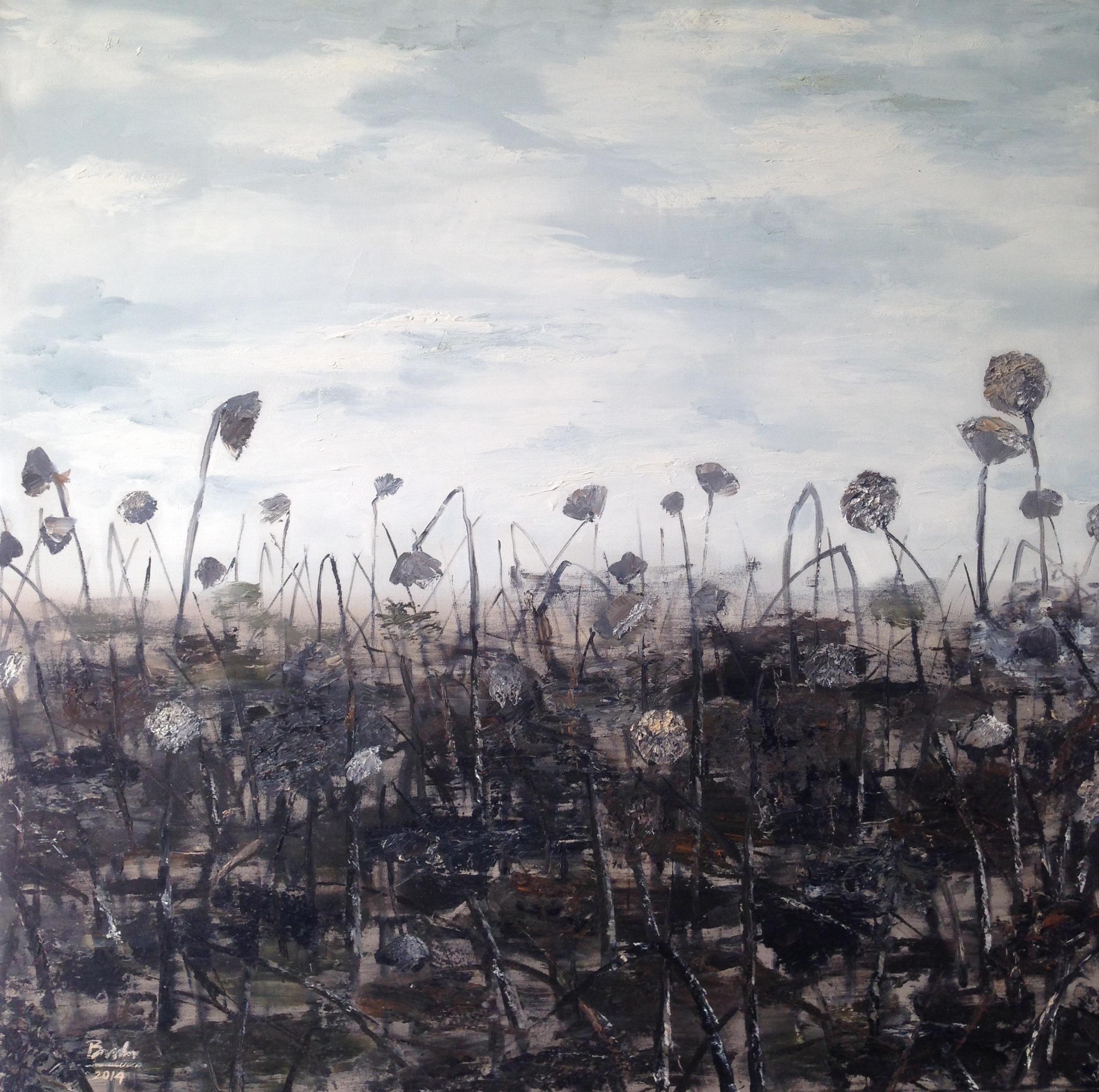 Fading Lotus pond – 2014