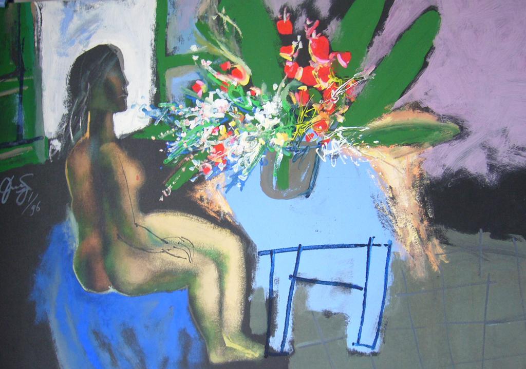Nude & Flowers – 1996