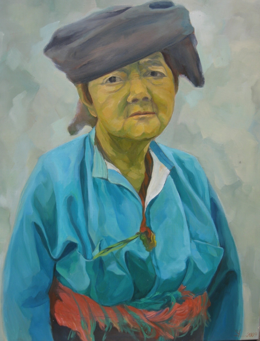 Old Minority lady – 2009