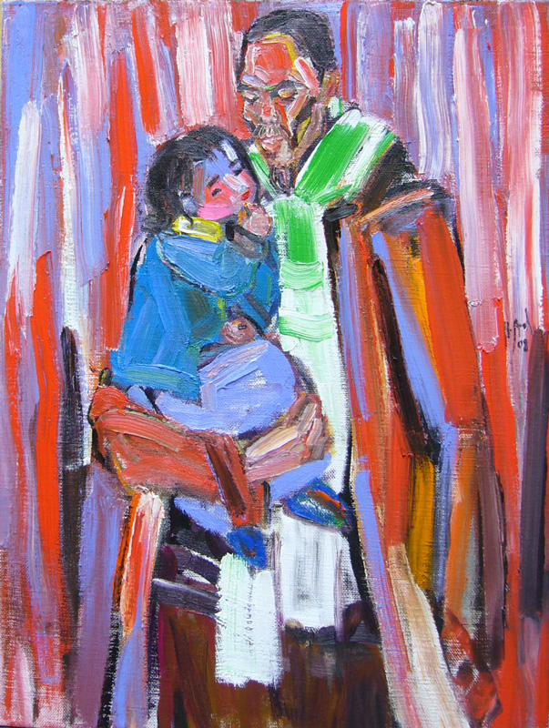 The artist & his daughter #2 – 2008